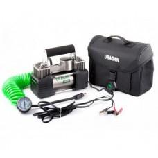 Автомобильный компрессор Uragan 90170 двухпоршневой