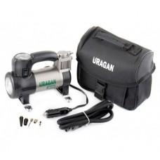 Автомобильный компрессор Uragan 90190 с LED фонарем