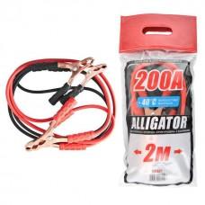 Стартовые провода Carlife Alligator 200A 2м (BC621)
