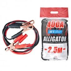 Стартовые провода Carlife Alligator 400A 2.5м (BC641)