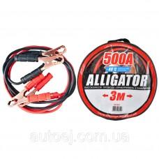 Стартовые провода Carlife Alligator 500A 3м (BC651)