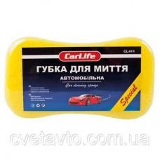 Губка для мытья авто с большими порами CarLife CL-411