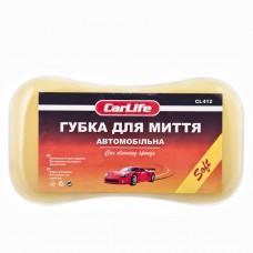Губка для мытья авто с мелкими порами CarLife CL-412