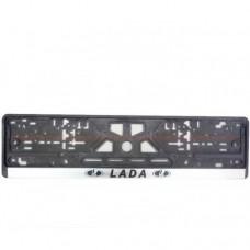 Рамка номерного знака LADA CARLIFE NH05