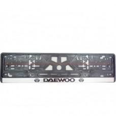 Рамка номерного знака Daewoo  CARLIFE NH08