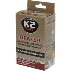 Антигель для дизельного топлива K2 TURBO DFA-39 50мл