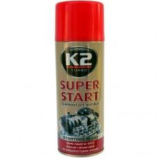 Быстрый запуск K2 Super Start 400мл.