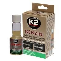 Очиститель инжектора K2 TURBO BENZIN 50мл