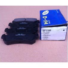 Тормозные колодки SP1160