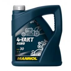 MANNOL 4-Takt Agro SAE 30 API SG 4л
