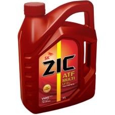 Трансмиссионное масло ZIC ATF MULTI VEHICLE 4л