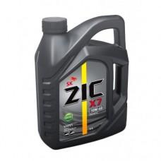 Моторное масло ZIC X7 10W-40 Diesel 6л