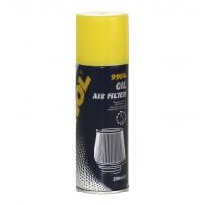 Пропитка для воздушных фильтров нулевого сопротивления Mannol Air Filter Oil 200 мл (9964)