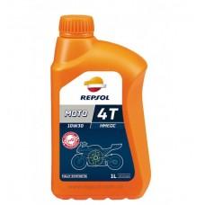 Моторное масло Repsol MOTO RACING HMEOC 4T 10W30 1л