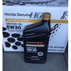 Genuine Honda Synthetic Blend Motor Oil 5W-30 0,946л (08798-9034)