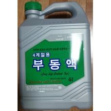 Антифриз-концентрат Hyundai/Kia (Mobis) Long Life Coolant (07100-00400) 4 л.