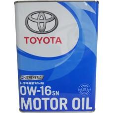 Toyota 0W16 SN/GF-5 4 л (08880-12105)