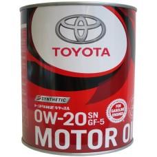 Toyota 0W20 SN+/GF-5 1 л (0888012606)