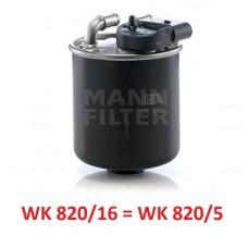 Фильтр топливный MANN-FILTER WK 820/16